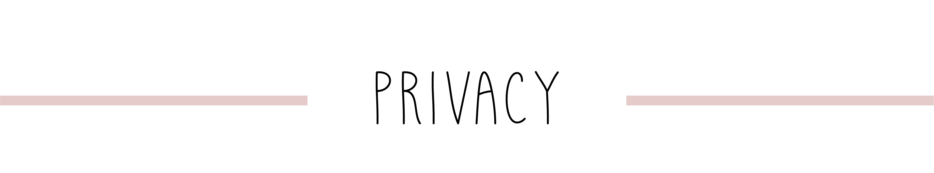 Titels - privacy - mobile